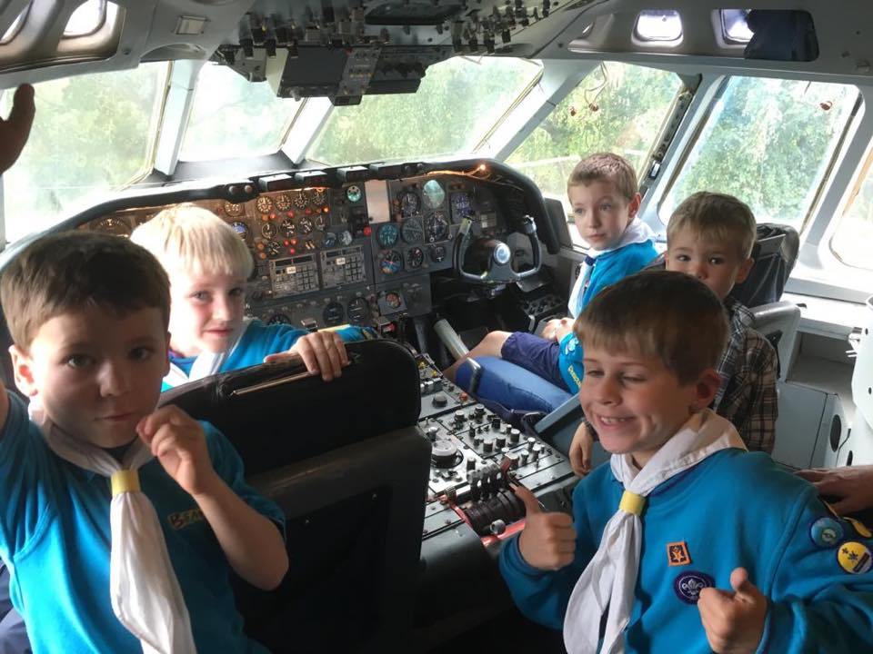 Beavers at Brooklands Museum